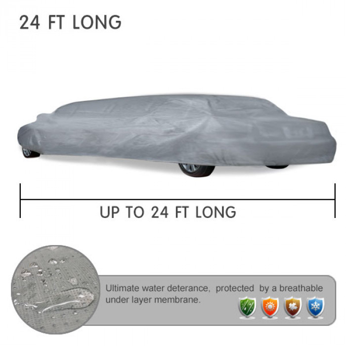 UP TO 24 FT LONG LIMO COVERS for